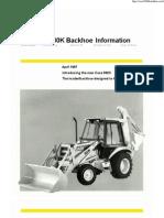 Case Backhoe 580K Catalog