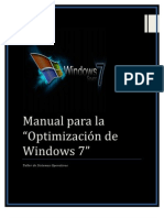 Optimizacion de Windows 7