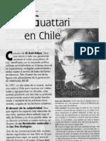 Felix Guattari en Chile 1991
