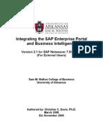 SAP Enterprise Portal Exercises for External Users Ver1.0