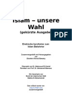 Islam unsere Wahl