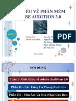 Slide Tìm Hiểu về phần mềm Adobe Audition 3.0