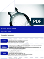 Bottled Water India Sample