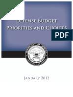 Defense Budget White Paper[1]
