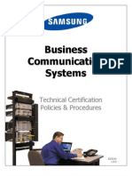 Samsung Technical Certification Guidelines