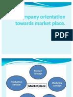 Company Orientation Towards Market Place