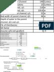 Cross Regulator and Head Regulator Design