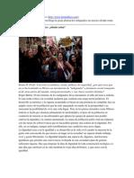 Textos Para El 14-Feb-2012 - 15M vs Occupy Mexico
