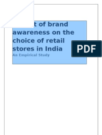 30112011_Impact of Brand Awareness on the Choice of Retail Stores in India (2)