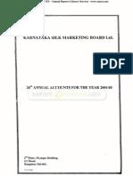 Karnataka Silk Marketing Board Ltd 2005