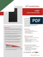 Panouri Canadian Solar CS6P M en 250Wp
