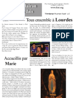 Lourdes 2010 - Le Clairon Lourdais n°1