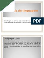 redaçao técnica - formas de linguagem