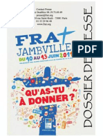 Jambville 2011 - Dossier de presse