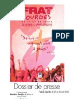 Lourdes 2010 - Dossier de presse