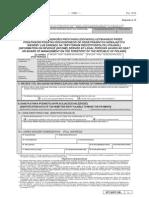 IFT-2 IFT-2R Informacja o wysokości przychodu (dochodu) uzyskanego przez podatników podatku dochodowego od osób prawnych niemających siedziby w Polsce