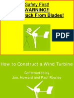 How to Construct a Wind Turbine