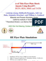 Luzheng Zhang et al- Simulations of Thin Flyer Plate Shock Experiments Using ReaxFF
