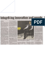 Integr8-ing innovation and people
