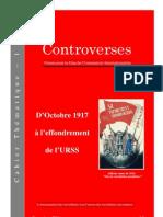 Controverses - Cahier Thématique - Octobre 17