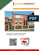 Brochure Noordstraat 30 Te Kamperland