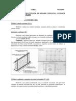Elemente de Constructii II