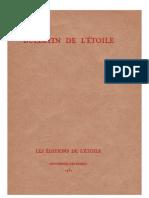 Bulletin de L'Étoile N°6 Novembre-Décembre 1932 par J. Krishnamurti