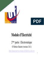 cours electrostatique