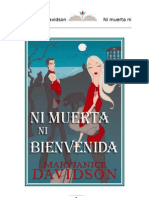 8.Ni Muerta Ni Bienvenida - Mary Janice Davidson