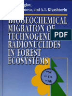 Shcheglov a.I. - Biogeochemical Migration of Technogenic Radionuclides in Forest Ecosistems - 2001