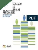 Empleo asociado al Impulso de las Energias Renovables