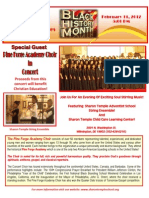 Pine Forge Academy  in Concert!