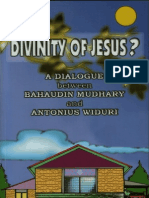 Dialogue - The Issue of Jesus' Divinity