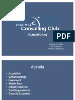 Duke Frameworks]