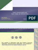 Open Data Intro