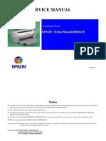 Service Manual EPSON Stylus Photo R200-R210