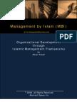 Islamic Management Frameworks[1]