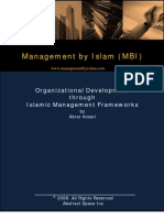 Islamic Management Frameworks[1]