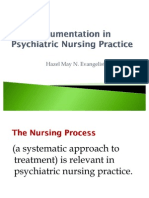 Documentation in Psychiatric Nursing Practice