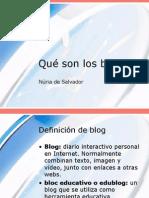 Que Son Los Blogs