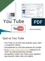 Buscar Bajar Insertar YouTube