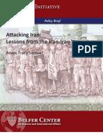 Lessons From Iran Iraq War