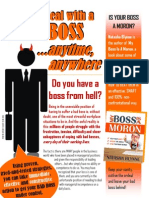 How to Deal With Bad Bosses... Anytime Anywhere - Natasha Blynne