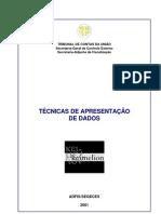 TÉCNICAS DE APRESENTAÇÃO DE DADOS