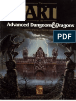Livro -The Art of the Advanced Dungeons & Dragons