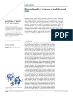 Dimerization Effect of Sucrose Oct a Sulfate on Rat FGF1