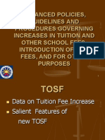 CHED New Policies on Tuiton and Other School Fees