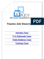 KEY CDC Teams Job Description