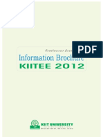 KIITEE 2012 Information Brochure