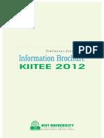 KIITEE 2012 Information Brochure